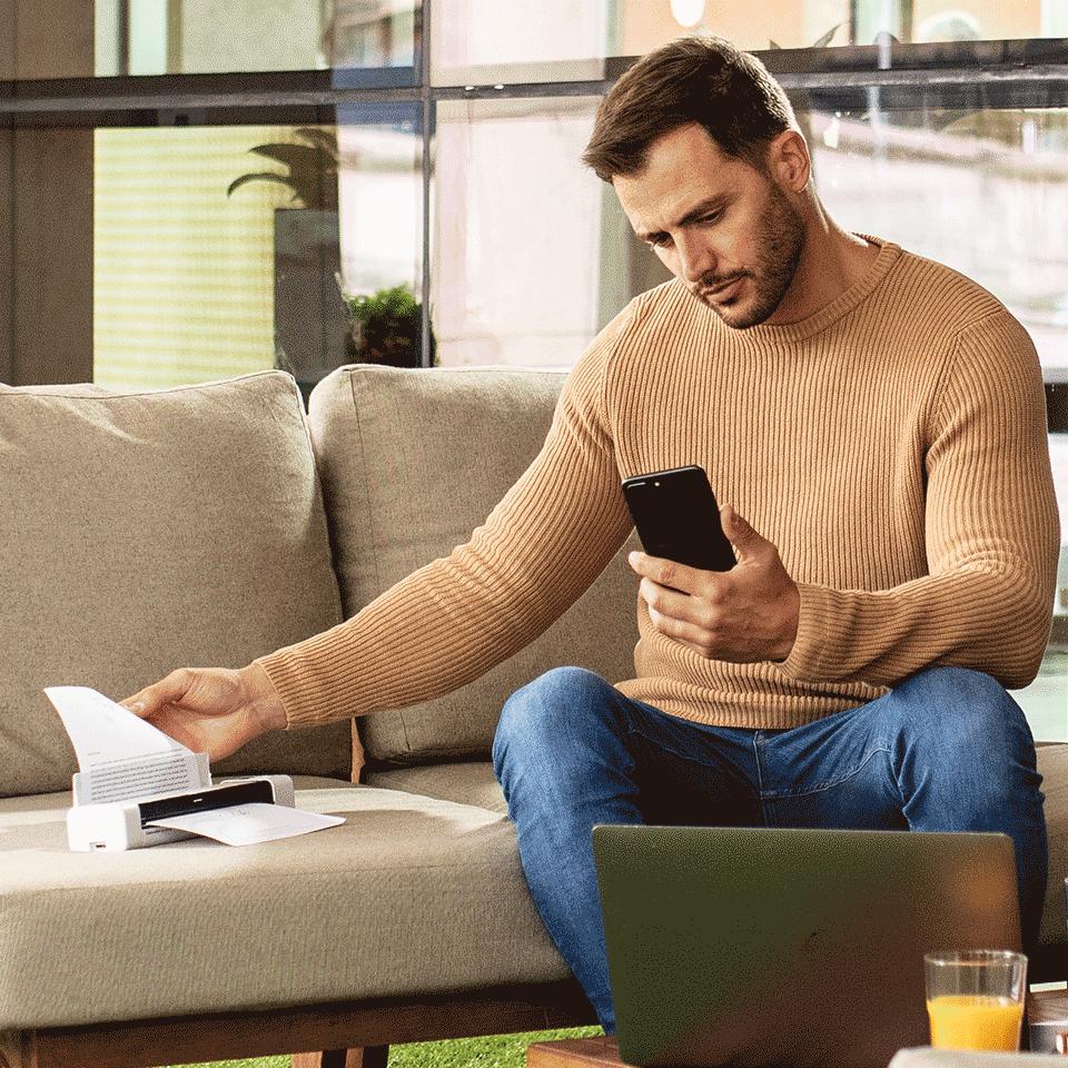 DS-940DW - Scanner mobile de documents Wi-Fi et recto-verso 5