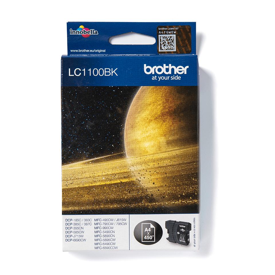 Cartouche d'encre LC1100BK Brother originale – Noir