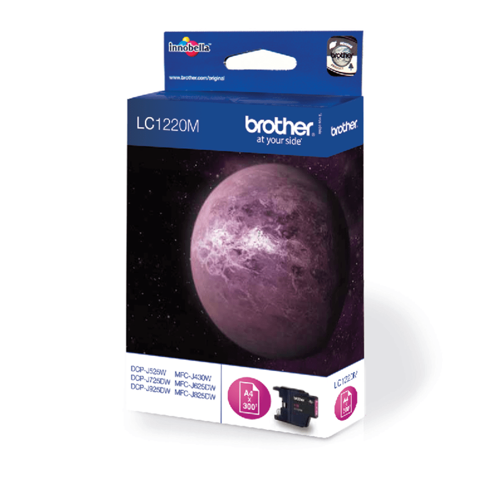 Cartouche d'encre LC1220M Brother originale – Magenta 2