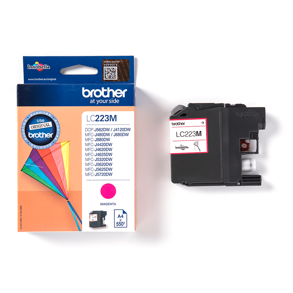 Cartouche d'encre LC223M Brother originale – Magenta 3