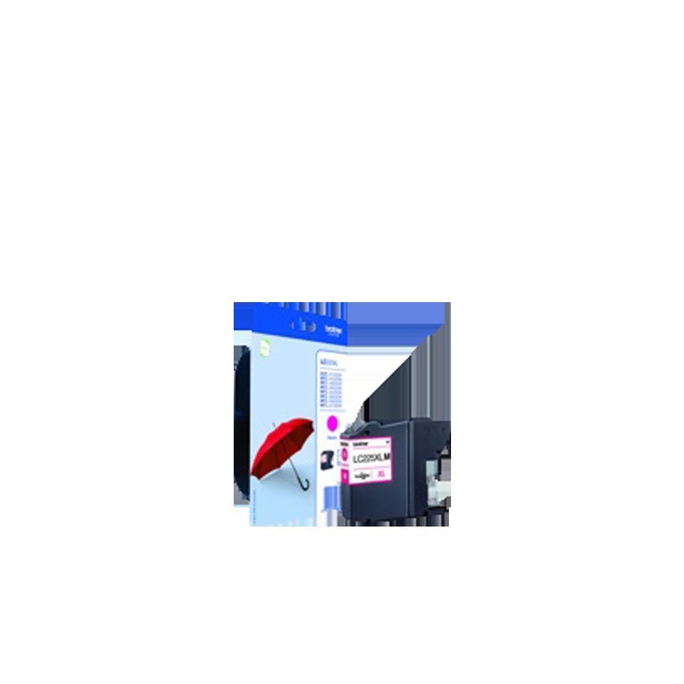 Cartouche d'encre LC225XLMBP Brother originale – Magenta