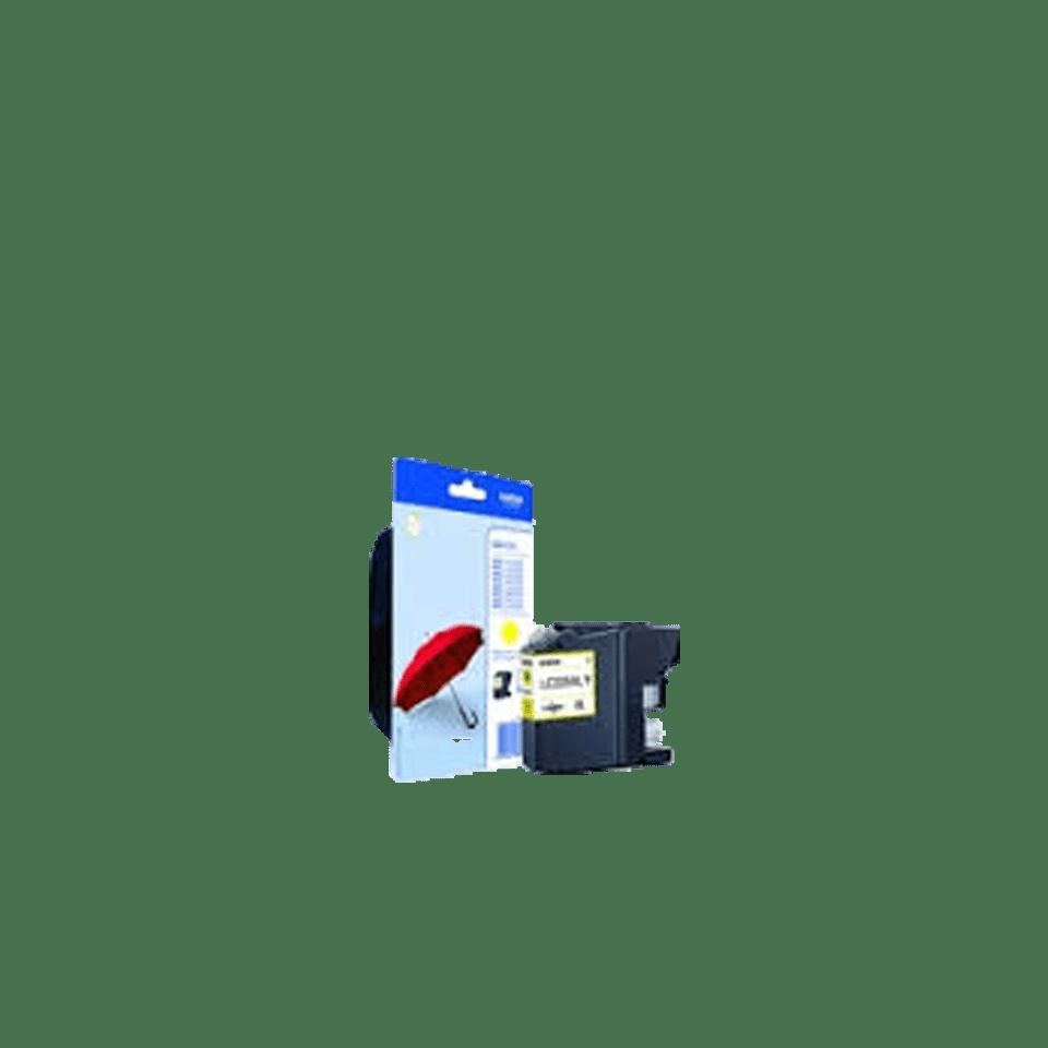 Cartouche d'encre LC225XLYBP Brother originale à haut rendement – Jaune