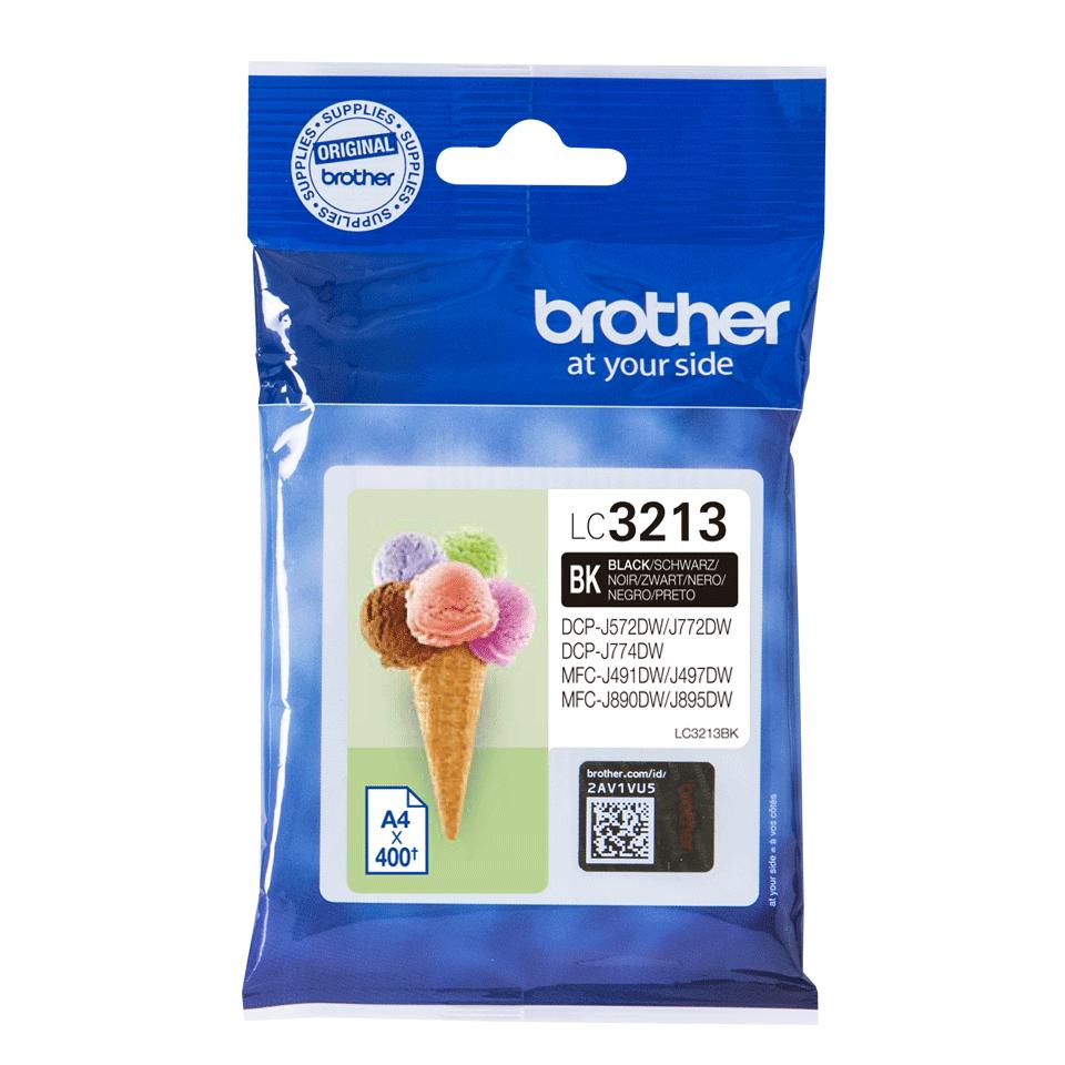 Cartouche d'encre originale Brother LC3213BK - Noir