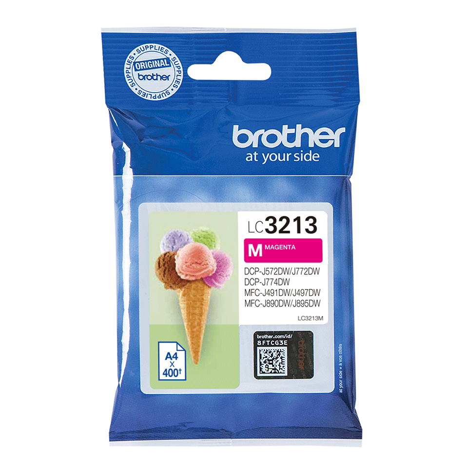 Cartouche d'encre originale Brother LC3213M - Magenta