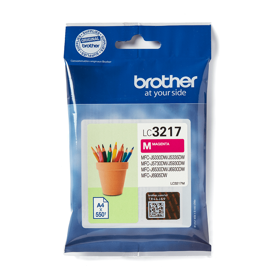 Cartouche d'encre LC3217M Brother originale – Magenta 2