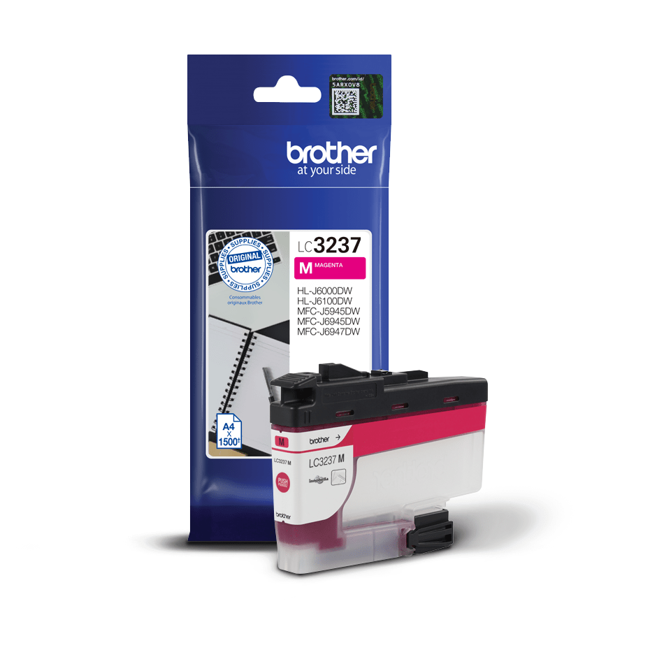 Cartouche d'encre LC3237M Brother originale – Magenta 3