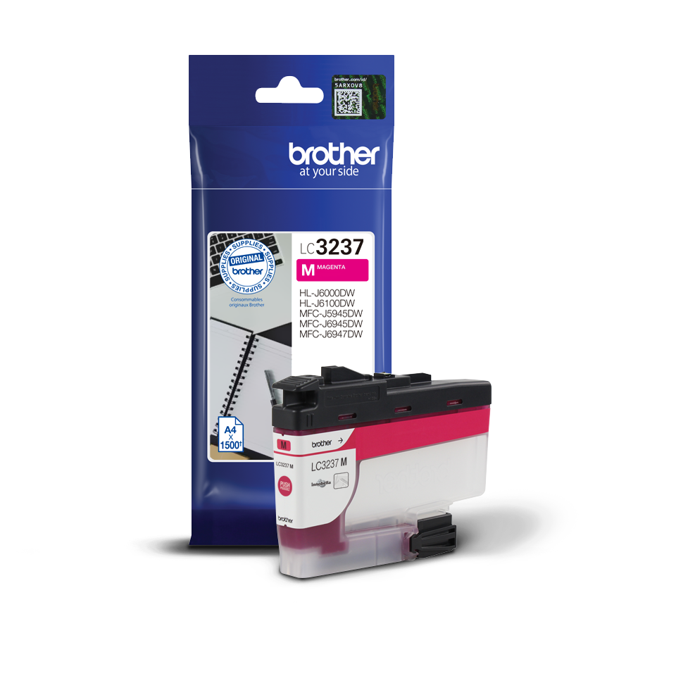 Cartouche d'encre LC3237M Brother originale – Magenta 2