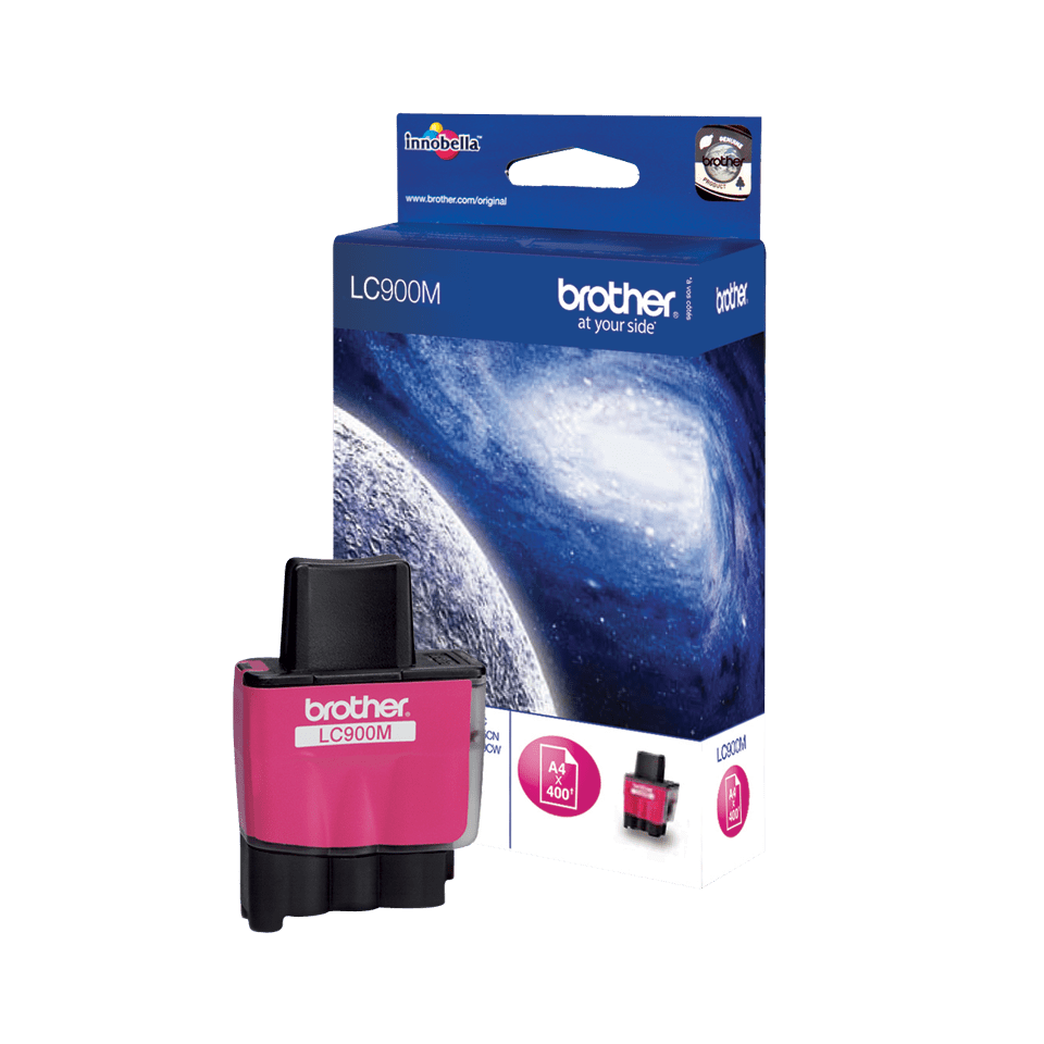 Cartouche d'encre LC900M Brother originale – Magenta