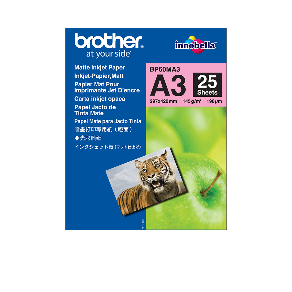 Papier mat BP60MA3 A3 Brother original  0