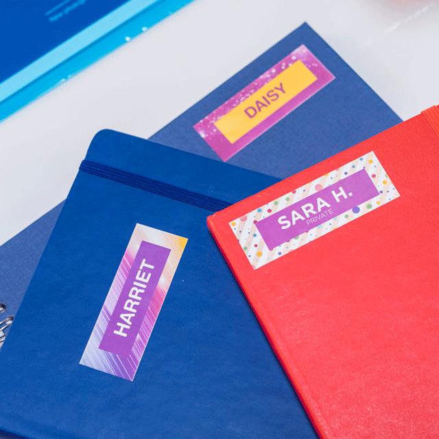 Ruban d'étiquettes tout-en-couleur Brother CZ-1002 12 mm de large 14