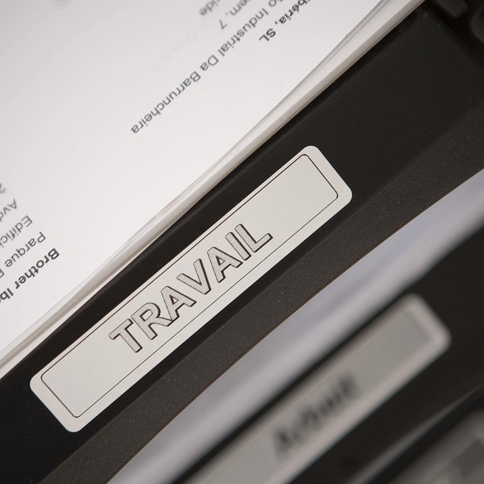 Rouleau d'étiquettes DK-11204 Brother original – Noir sur blanc, 17x54mm 1