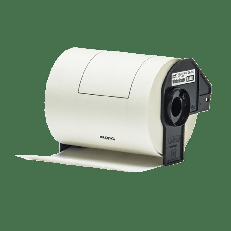 Rouleau de papier continu DK-11247 Brother original – Noir sur blanc 103mm x 164 mm 2
