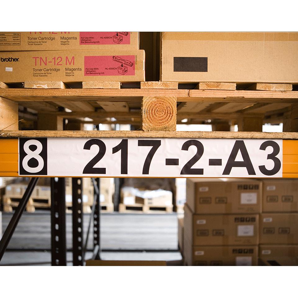 Rouleau de papier continu DK-22243 Brother original – Noir sur blanc, 102mm de large 2