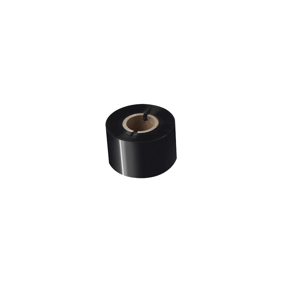 BSS-1D300-060 - Ruban encreur noir en cire / résine standard à transfert thermique  2