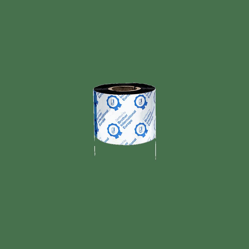 BWP-1D300-060 - Ruban encreur noir en cire premium à transfert thermique 3