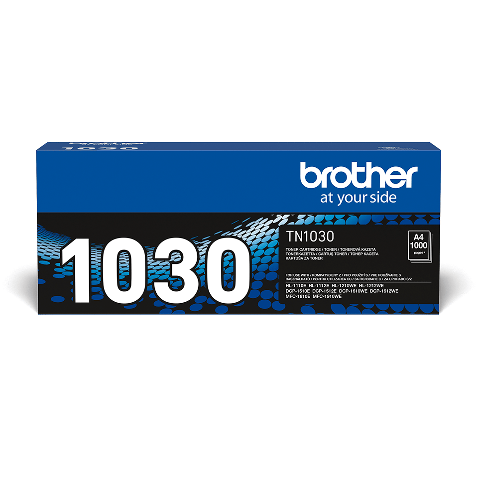 Cartouche de toner TN-1030 Brother originale – Noir 1