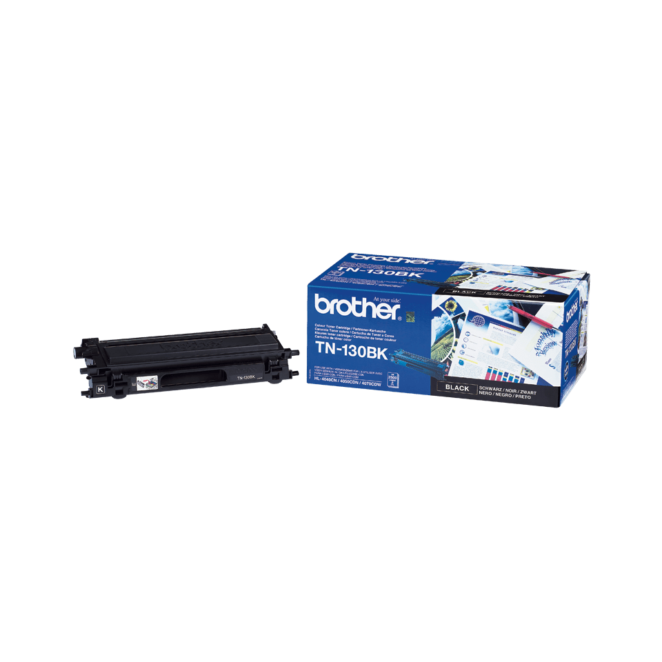 Cartouche de toner TN-130BK Brother originale – Noir 2