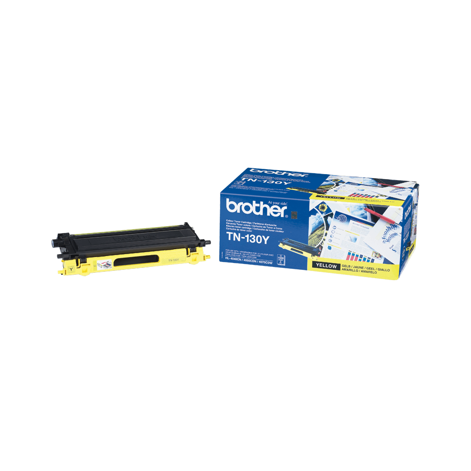 Cartouche de toner TN-130Y Brother originale – Jaune