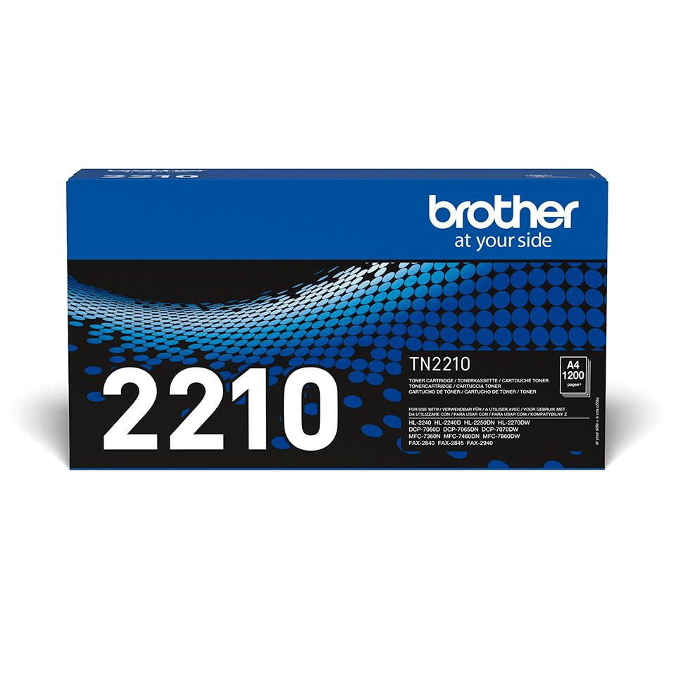 Cartouche de toner TN-2210 Brother originale – Noir 2