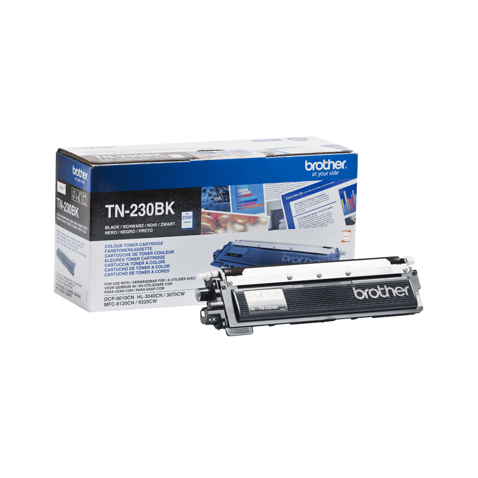 Cartouche de toner TN-230BK Brother originale – Noir 2