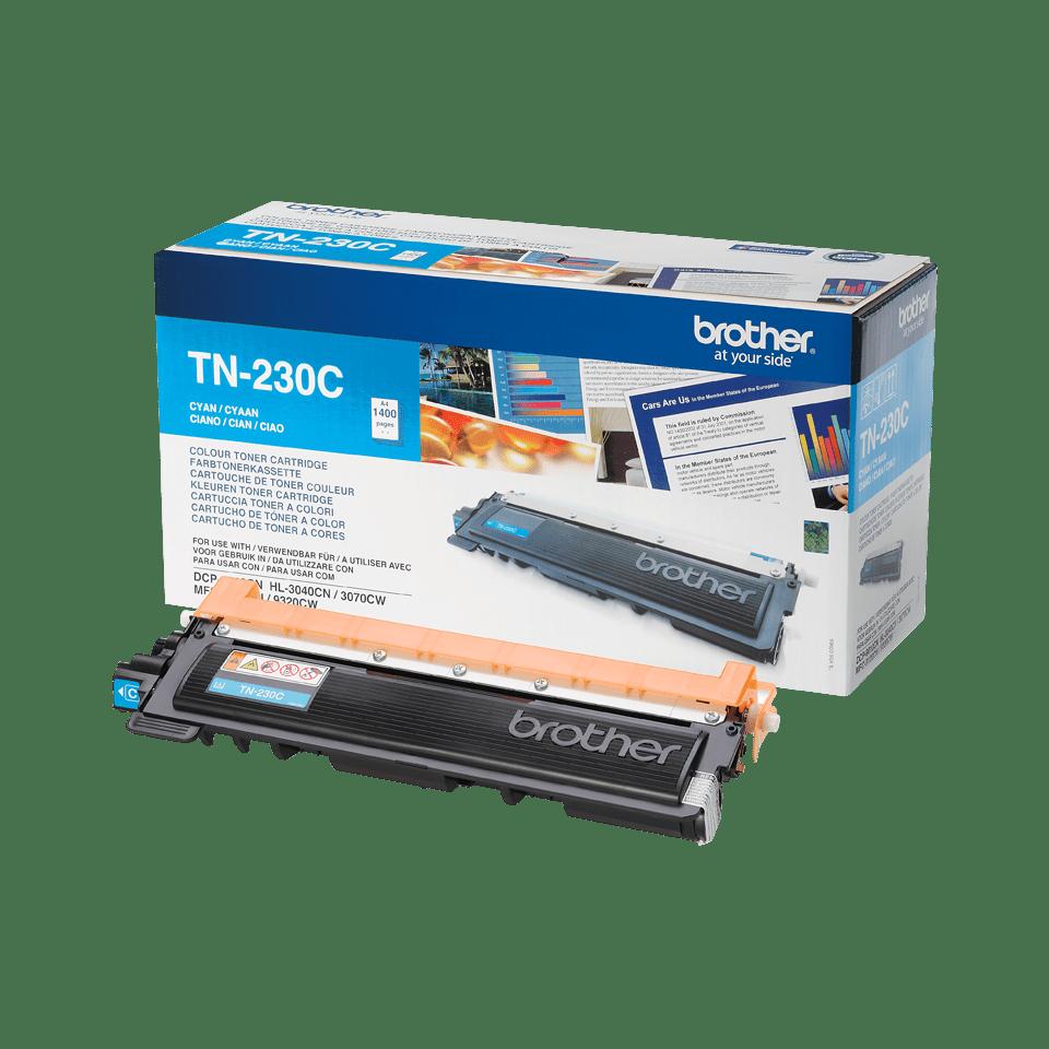 Cartouche de toner TN-230C Brother originale – Cyan 2