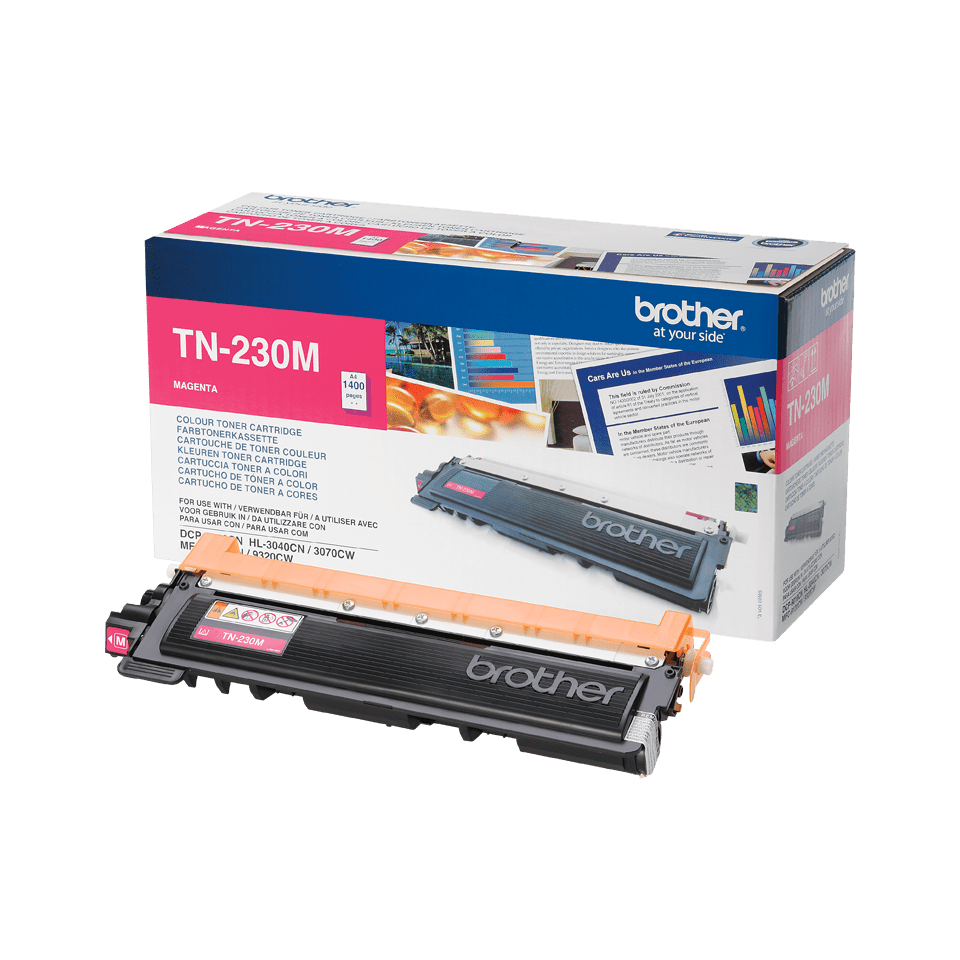 Cartouche de toner TN-230M Brother originale – Magenta