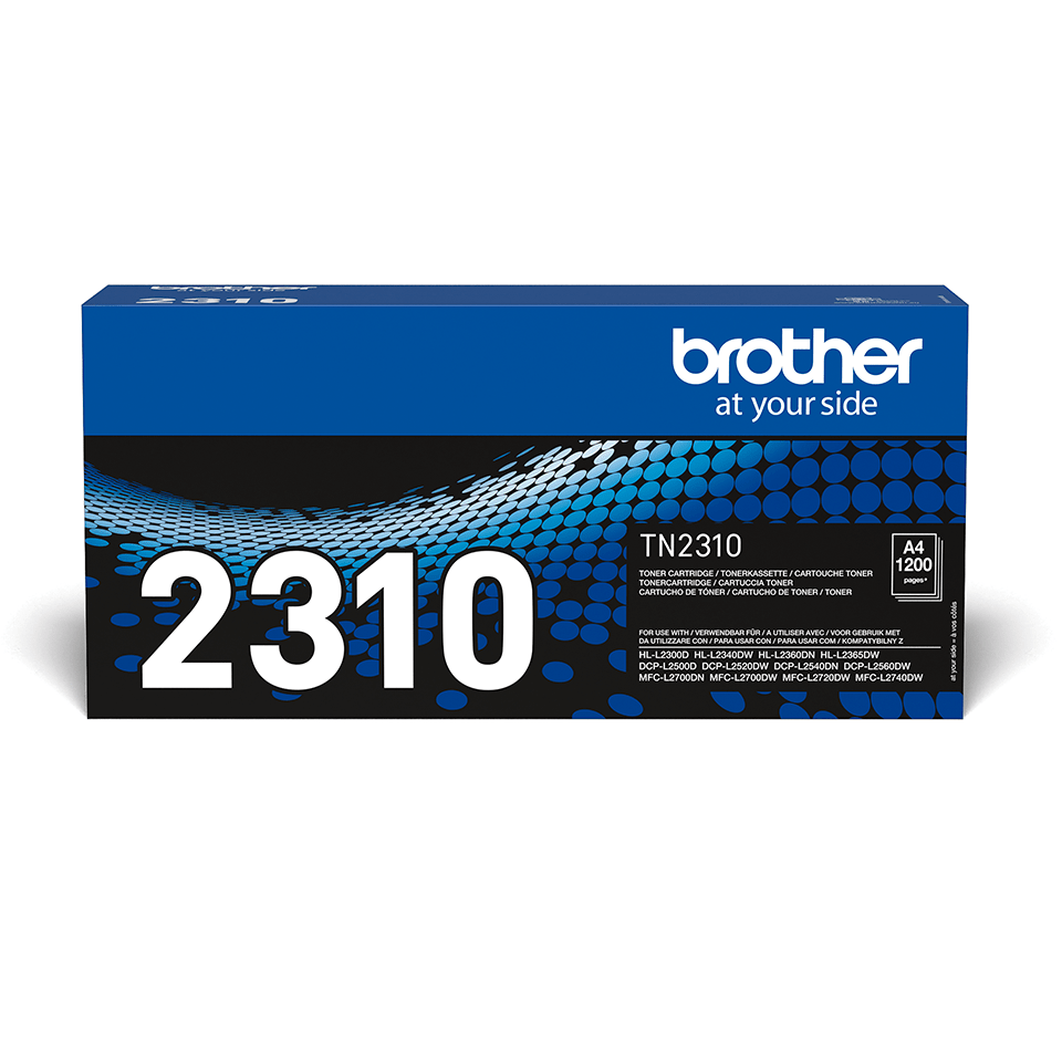 Cartouche de toner TN-2310 Brother originale – Noir