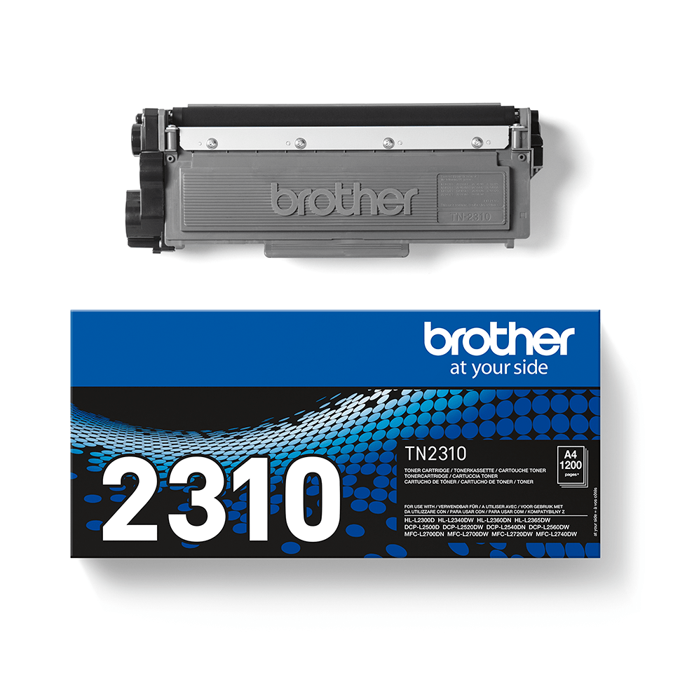 Cartouche de toner TN-2310 Brother originale – Noir  2