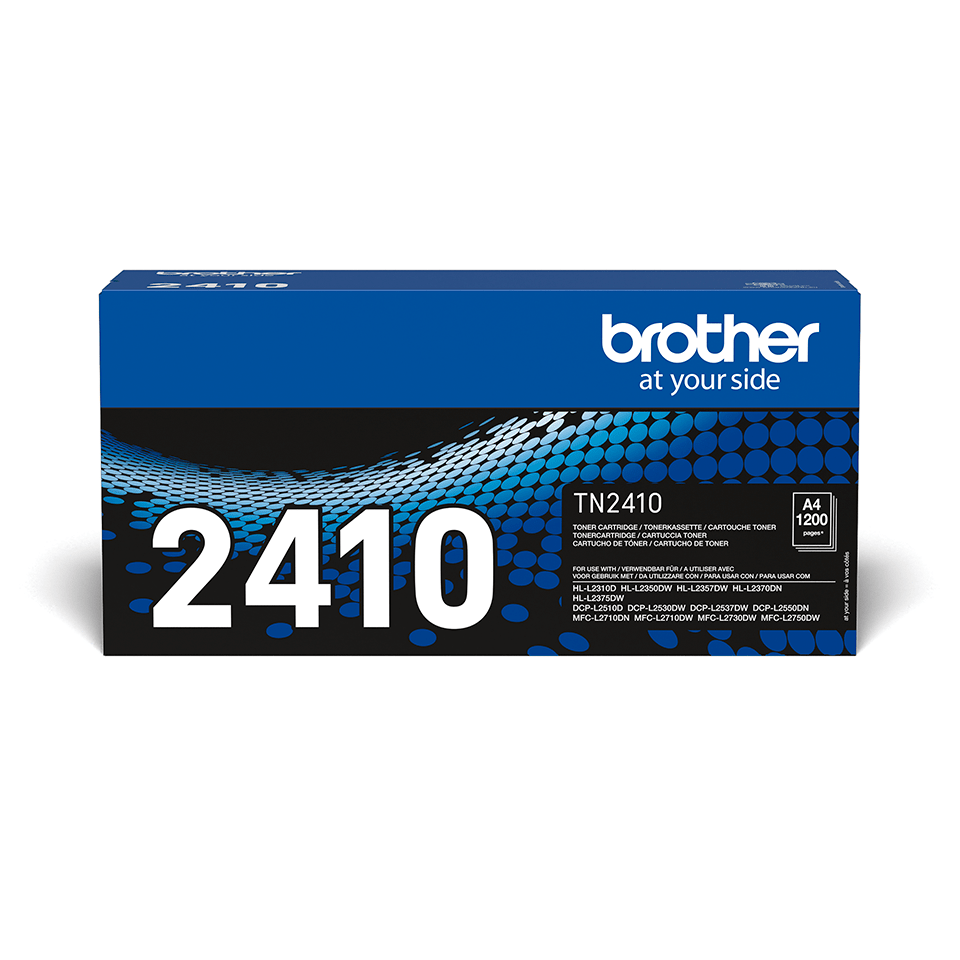 Cartouche de toner TN-2410 Brother originale – Noir