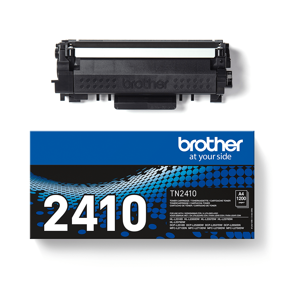 Cartouche de toner TN-2410 Brother originale – Noir  2
