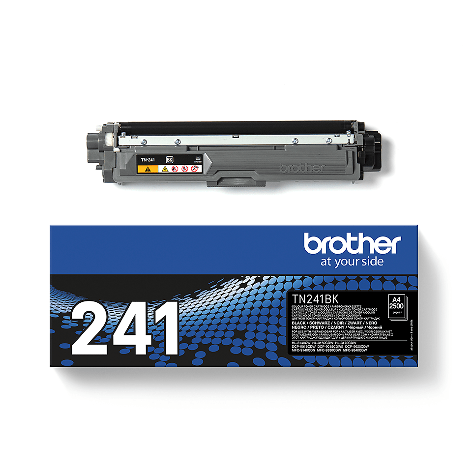 Cartouche de toner TN-241BK Brother originale – Noir 2