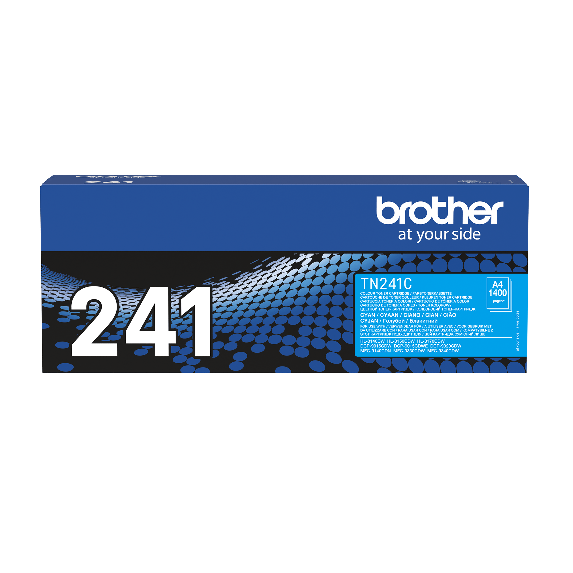 Cartouche de toner TN-241C Brother originale – Cyan
