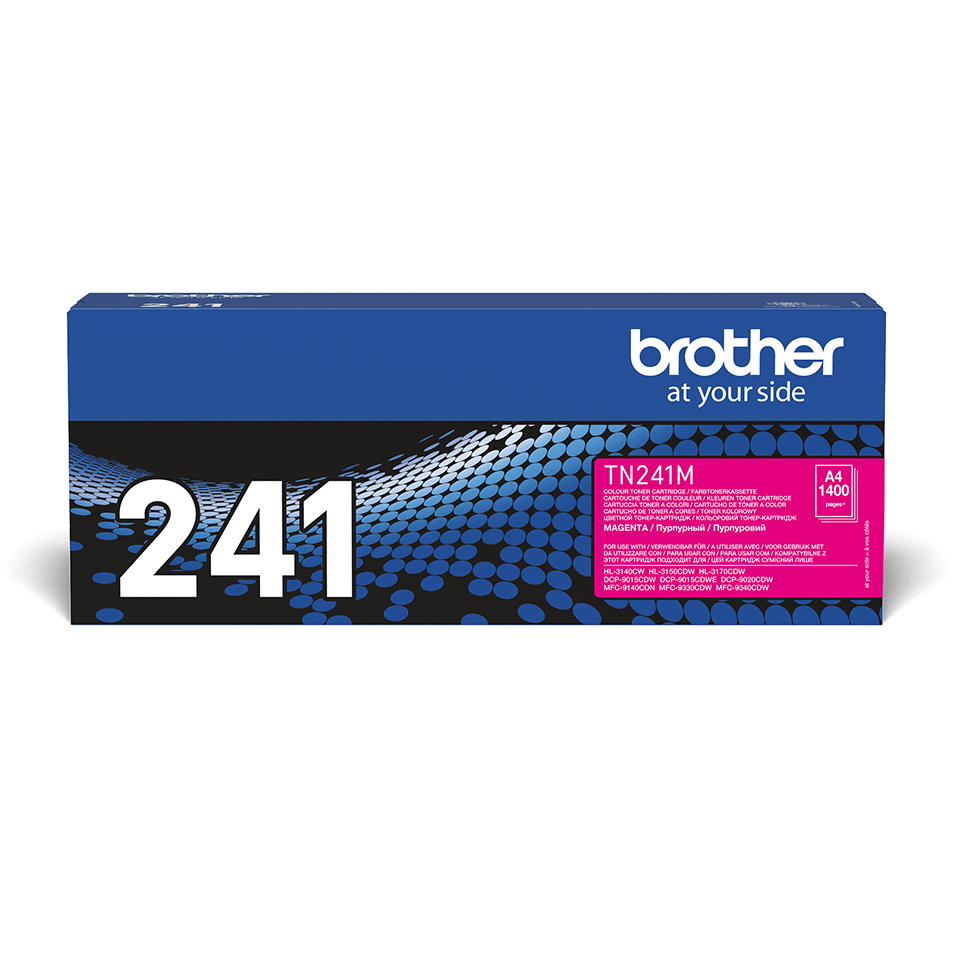 Cartouche de toner TN-241M Brother originale – Magenta