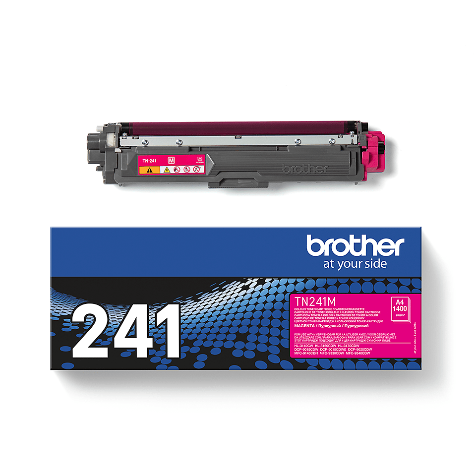 Cartouche de toner TN-241M Brother originale – Magenta 2