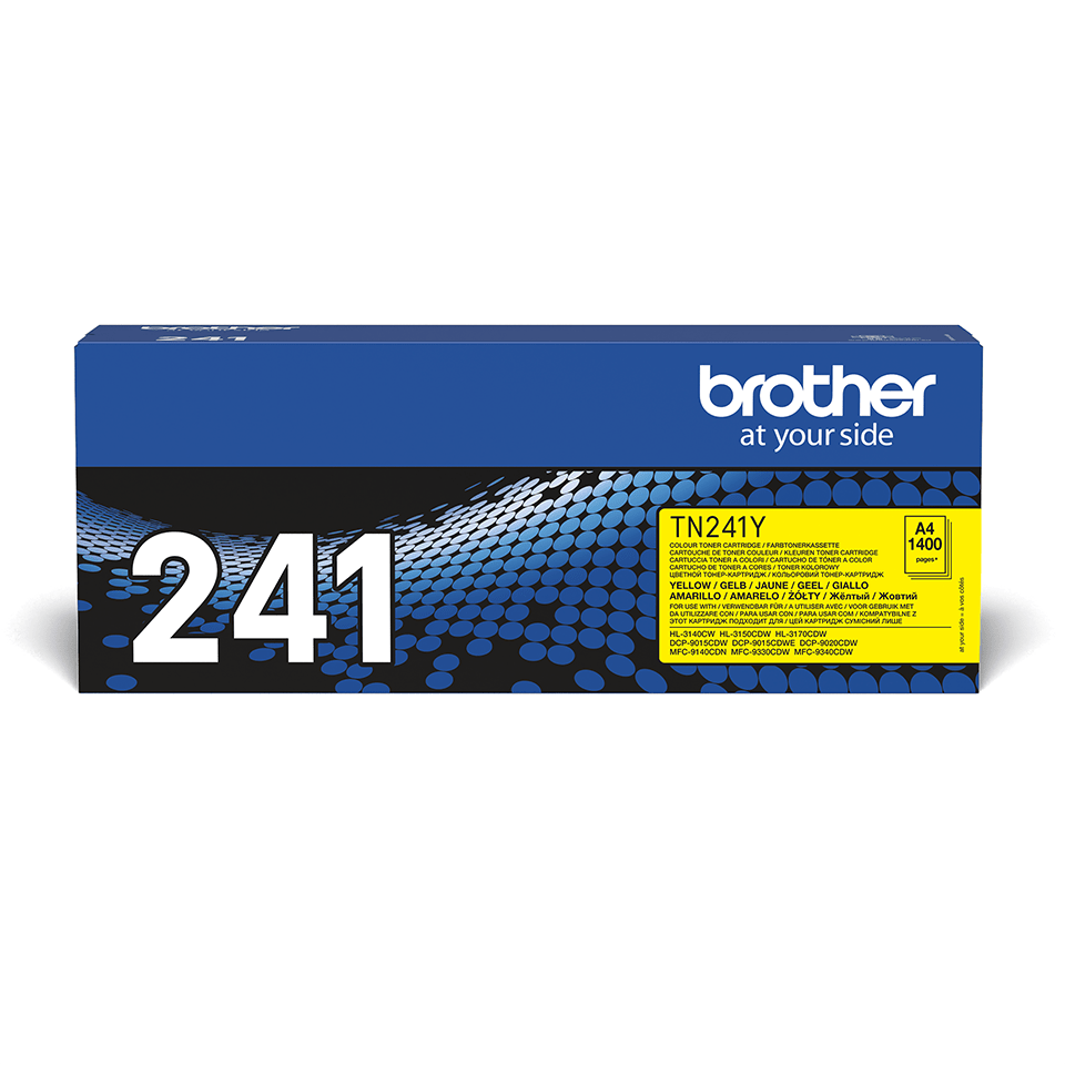 Cartouche de toner TN-241Y Brother originale – Jaune 2