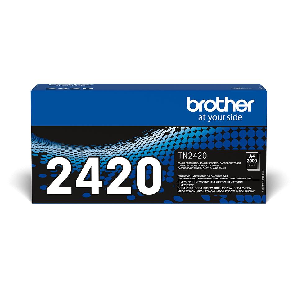 Cartouche de toner TN-2420 Brother originale à haut rendement – Noir
