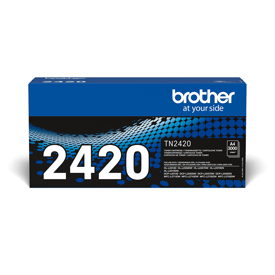 Cartouche de toner TN-2420 Brother originale à haut rendement – Noir