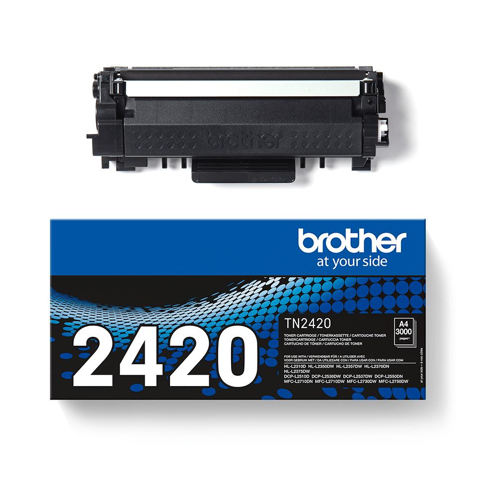 Cartouche de toner TN-2420 Brother originale à haut rendement – Noir  2