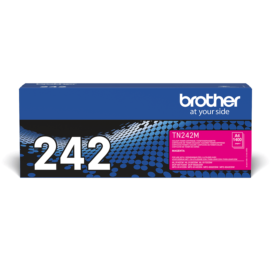 Cartouche de toner TN-242M Brother originale – Magenta