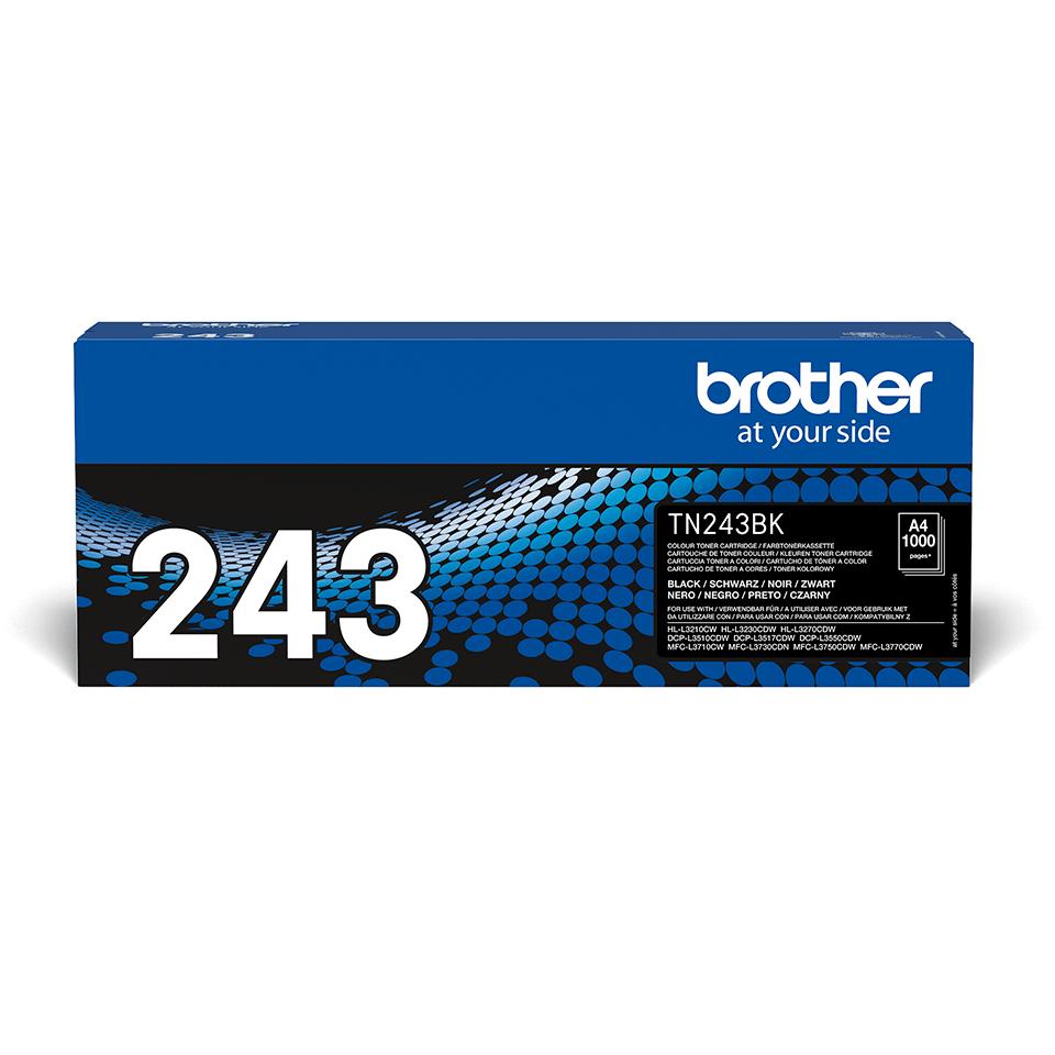 Cartouche de toner TN-243BK Brother originale – Noir