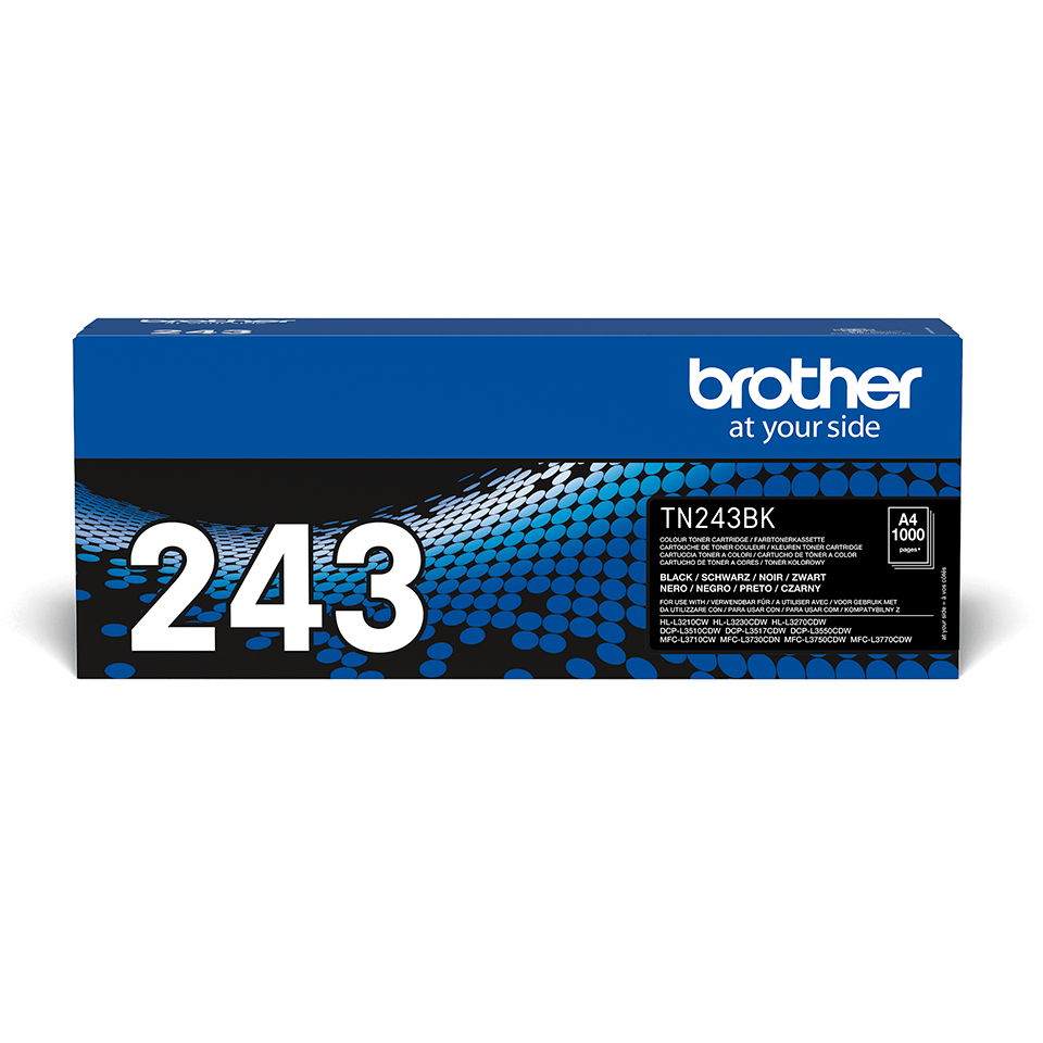 Cartouche de toner TN-243BK Brother originale – Noir 2