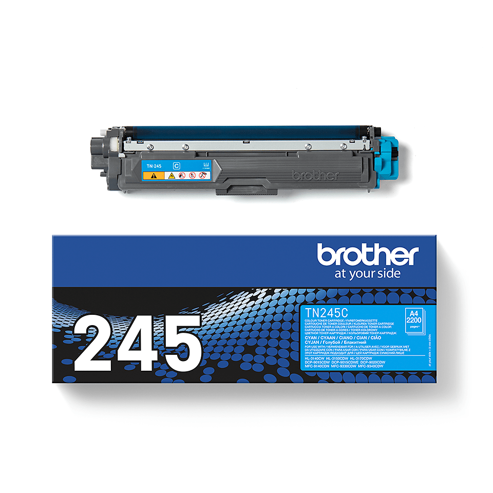 Cartouche de toner TN-245C Brother originale – Cyan  2