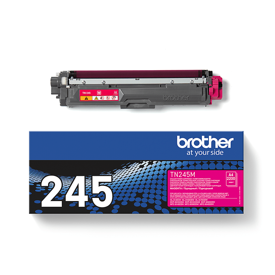 Cartouche de toner TN-245M Brother originale – Magenta 1