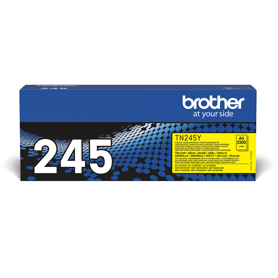 Cartouche de toner TN-245Y Brother originale – Jaune 2