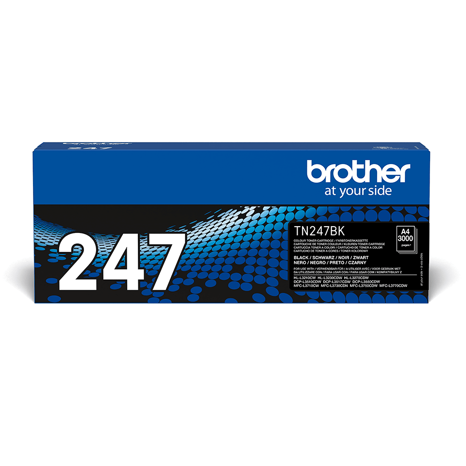 Cartouche de toner TN-247BK Brother originale – Noir 2