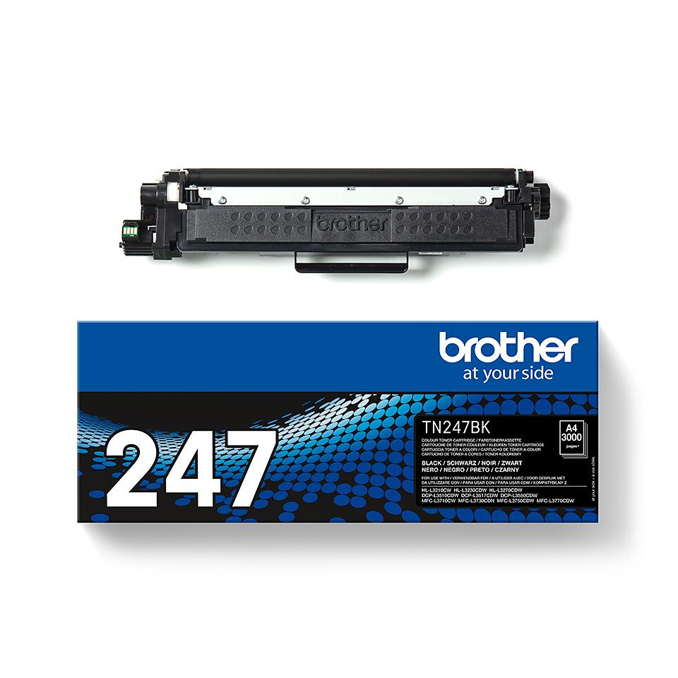 Cartouche de toner TN-247BK Brother originale – Noir 2