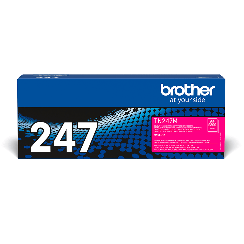 Cartouche de toner TN-247M Brother originale – Magenta 2