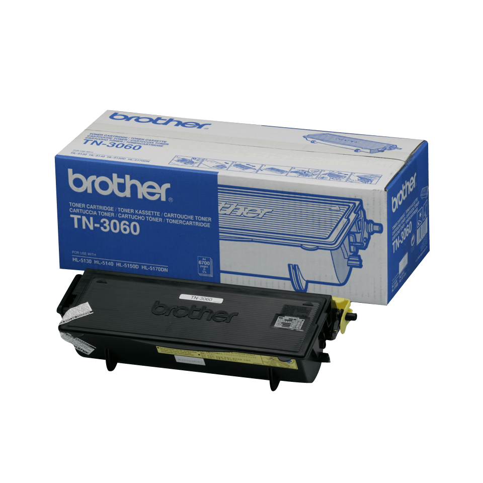Cartouche de toner TN-3060 Brother originale à haut rendement – Noir