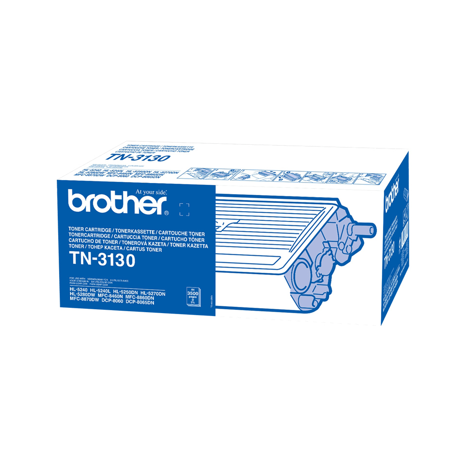 Cartouche de toner TN-3130 Brother originale à haut rendement – Noir