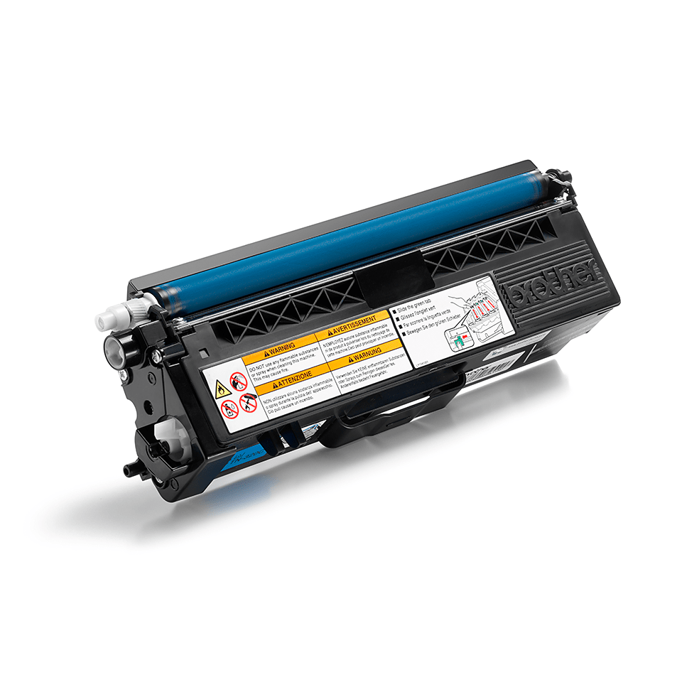 Cartouche de toner TN-320C Brother originale – Cyan